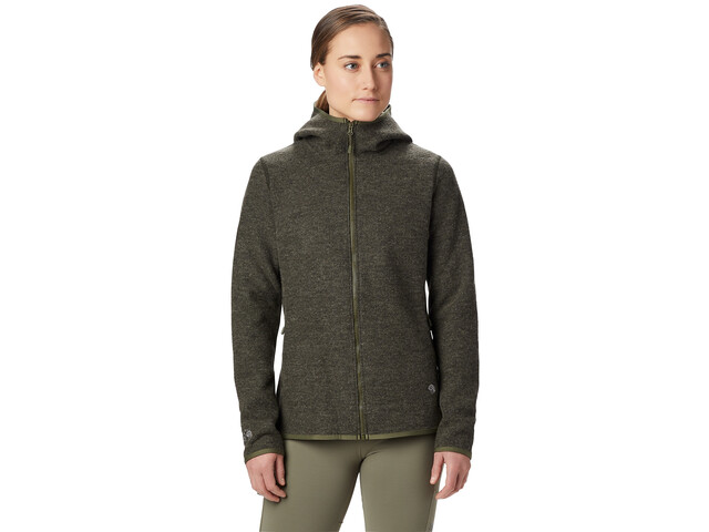 Mountain Hardwear Hatcher Full Zip Hoody Women dark army